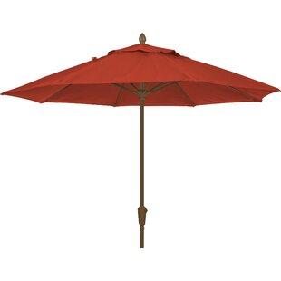 Prestige 9' Market Sunbrella Umbrella by Fiberbuilt