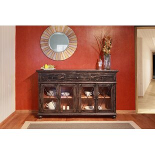 Strachan 3 Drawer 4 Door Sideboard Millwood Pines