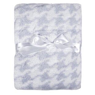 Purchase Houndstooth Printed Plush Microfiber Velour Baby Blanket ByTadpoles