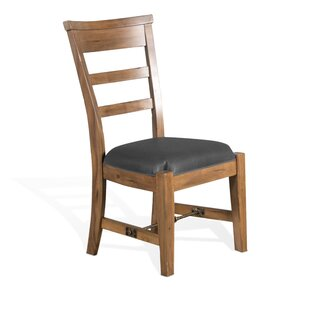 Meadow Solid Wood Dining Chair Loon Peak