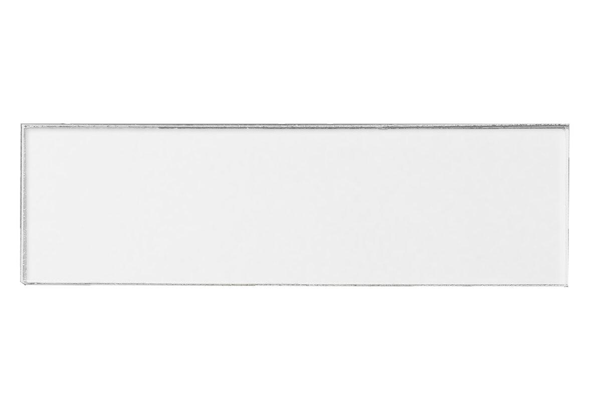 Abolos secret dimensions 3 x 12 glass subway tile in eternal secret dimensions 3 x 12 glass subway tile in eternal white dailygadgetfo Gallery