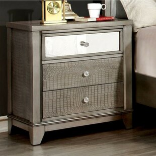 Marique 3 Drawer Nightstand by Red Barrel Studio