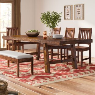 Loon Peak Hardin Extendable Dining Table