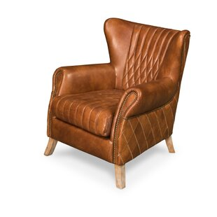 Bugatti Wingback Chair by Sarreid Ltd