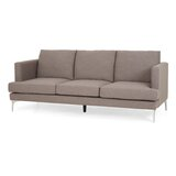 87.75 Recessed Arm Sofa by Wrought Studio™