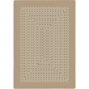 Check Prices Constantine Beige Area Rug By Gracie Oaks