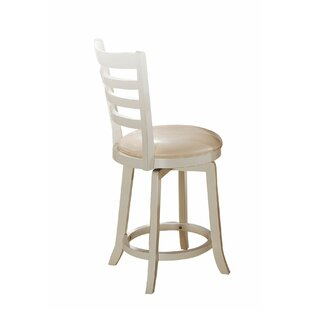 Syrna 24 Swivel Bar Stool (Set of 2) August Grove