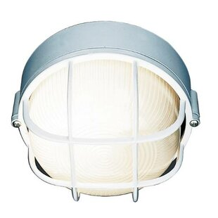 Best Reviews 1-Light Outdoor Bulkhead Light By Royal Cove