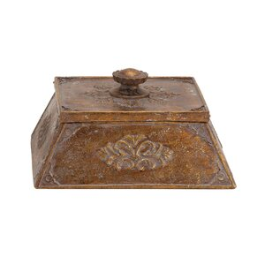 Polystone Decorative Box with Lid