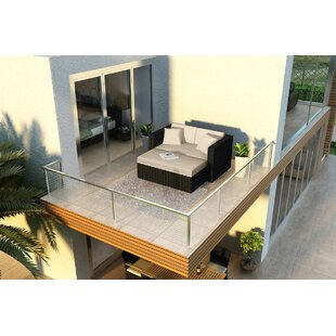 Azariah Patio Daybed with Cushions