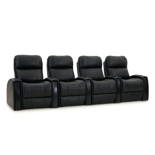 Red Barrel Studio Home Theater Loveseat (Row of 4)