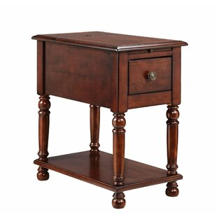 Fontes End Table with Storage by Darby Home Co