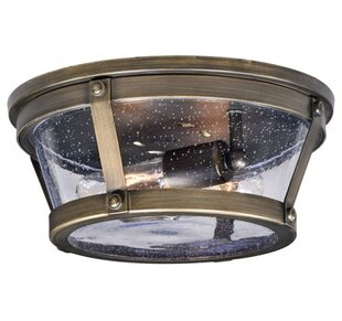 Affordable Price Articombe 2-Light Outdoor Flush Mount By Longshore Tides