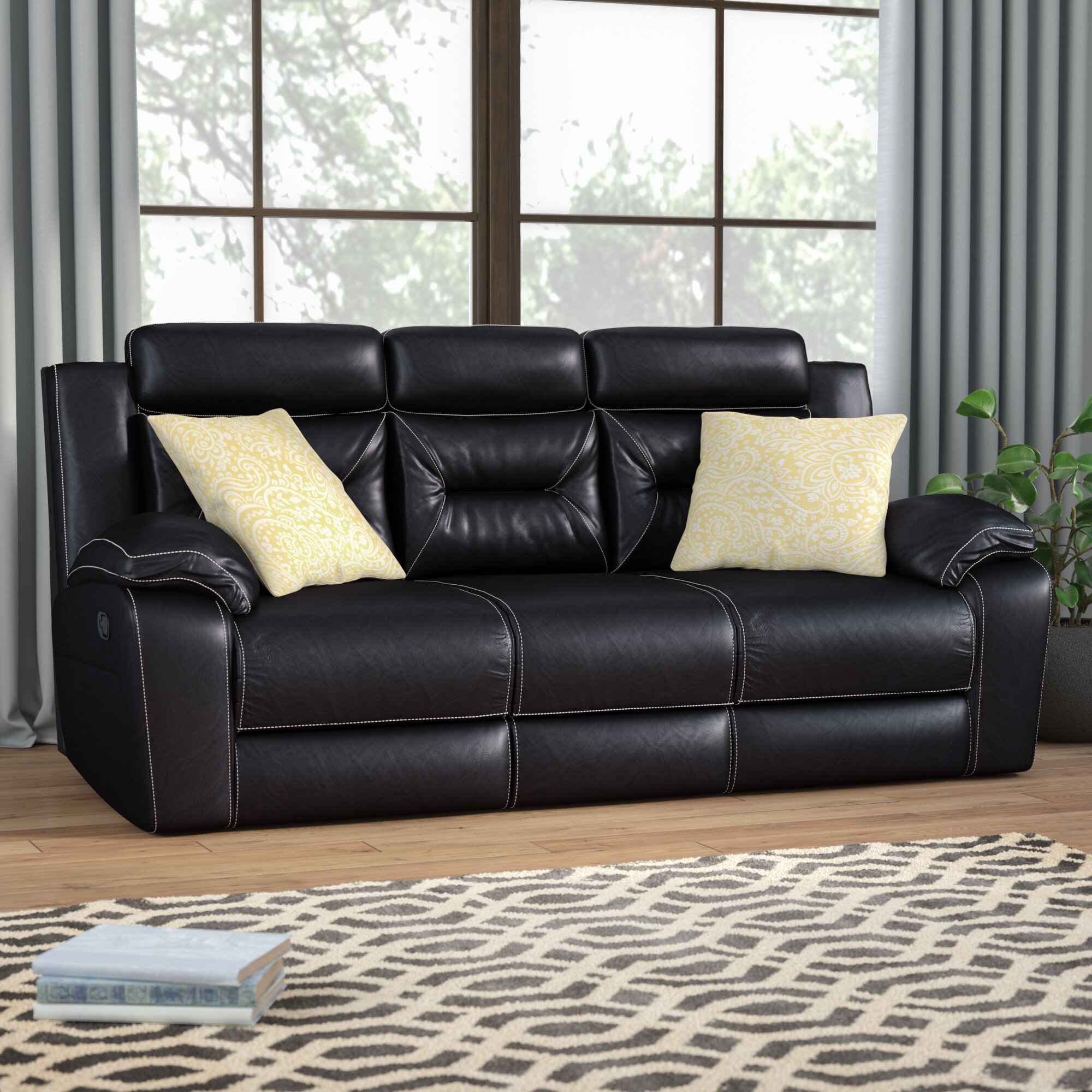 Andover Mills Simmons Upholstery Chadbourne Double Motion Reclining