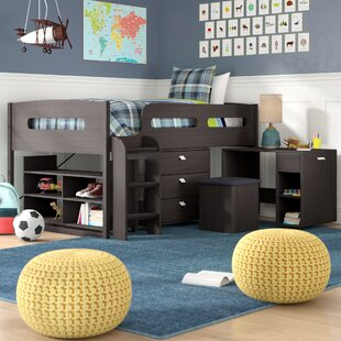 Reviews Angelica Twin Low Loft Bed with Storage by Mack & Milo Reviews (2019) & Buyer's Guide