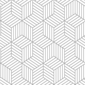 Allmodern Enid Striped Hexagon 16 5 L X 20 5 W Geometric Peel And Stick Wallpaper Roll Reviews Wayfair