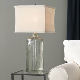 Affordable Price Hammered LED 31 Table Lamp By Darby Home Co
