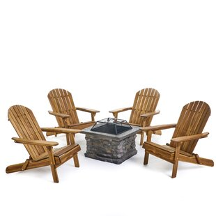 Billie Outdoor 5 Piece Conversation Set