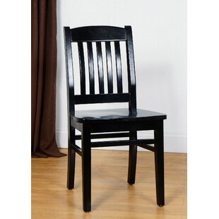 Claverton Down Solid Wood Side Chair (Set of 2) Loon Peak