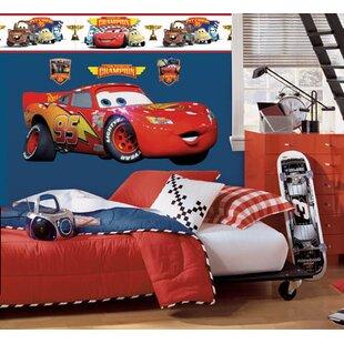 Disney Cars Lightning McQueen Room Makeover Wall Decal