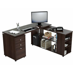 Luiza L-Shape Executive Desk
