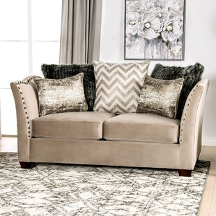 Find Driscoll Flared Arms Loveseat by Rosdorf Park Reviews (2019) & Buyer's Guide