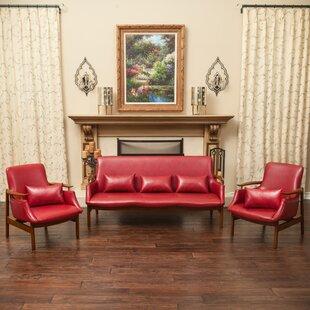 Viennes 3 Piece Living Room Set by Home Loft Concepts