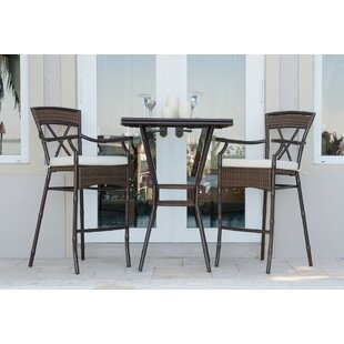 Panama Jack Outdoor Rum Cay 3 Piece Dinin..