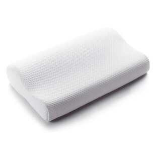 Persephone Contoured Plush Memory Foam Bed Pillow