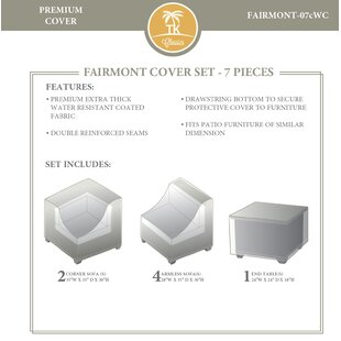 Rosecliff Heights 7 Piece Outdoor Cover Set
