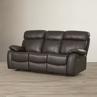 Franciscan Reclining Sofa Red Barrel Studio
