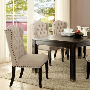 Leahy Rustic Solid Wood Dining Table
