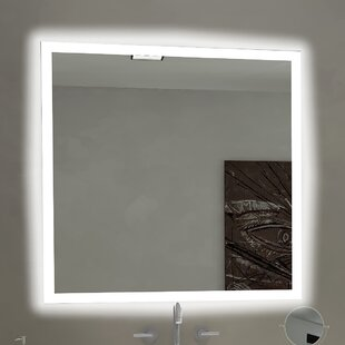Affordable Price Rectangle Backlit Bathroom/Vanity Wall Mirror By Paris Mirror