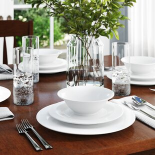 Elinore Melamine 12 Piece Dinnerware Set, Service for 4