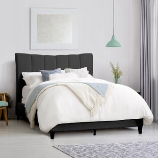 Find Brodeur Upholstered Panel Bed by House of Hampton Reviews (2019) & Buyer's Guide
