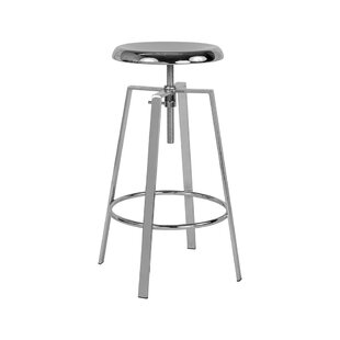 Lavonne Adjustable Height Swivel Bar Stoo..