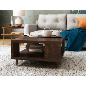 Cassia Coffee Table with Magazine Rack by La..