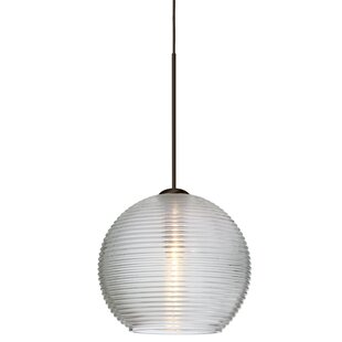 Besa Lighting Kristall 1-Light Globe Pendant