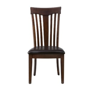 Emilia Solid Wood Dining Chair (Set of 2) by Alcott Hill