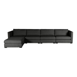 Timpson Plush Deep Modular Sectional with Ottoman