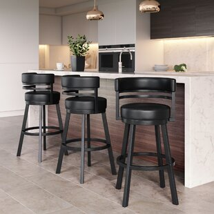 Chamisa 26 Swivel Bar Stool by Ebern Designs