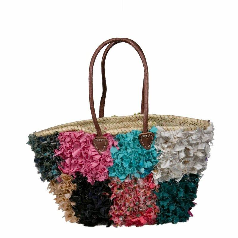 Mistana Rag Rug Boucherouite Basket Wayfair
