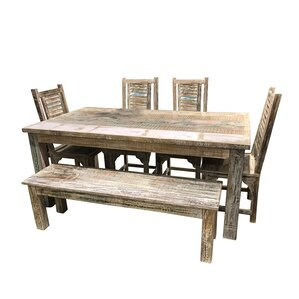 Mosca-Hooper 6 Piece Dining Set by Bloomsbury Market