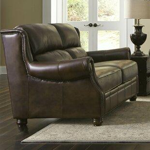 Appalachian Loveseat by Lazzaro Leather