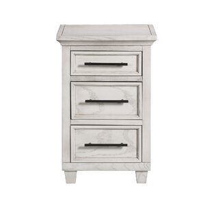 Letterly 3 Drawer Nightstand