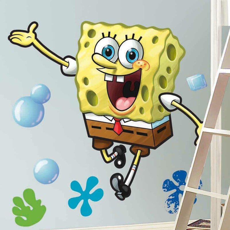 Wallhogs SpongeBob Squarepants Cutout Wall Decal & Reviews | Wayfair