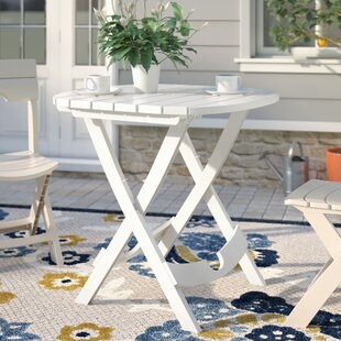 Low priced Quebec Folding Resin Bistro Table ByAndover Mills