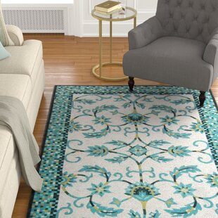 Verrett Handmade Blue Indoor/Outdoor Area Rug
