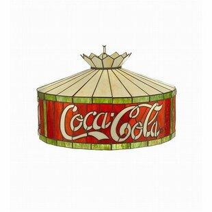 Coca-Cola Pendant by Meyda Tiffany