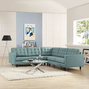Gelb Empress Sectional by Ivy Bronx